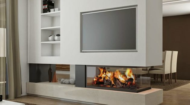 Contemporary Fireplace- Real Masterpiece To Adorn Your Living Space