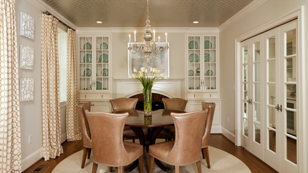 Fifth image of 49 Elegant Small Dining Room Decorating Ideas with Decorating Narrow Dining Room | Desainrumahkeren.com