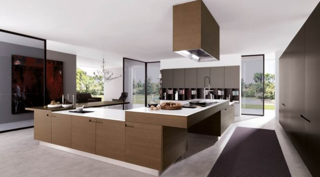 Brilliant Modern Luxury Kitchen Designs Modern Kitchen Designs Zoomtm - Bee Home Decor