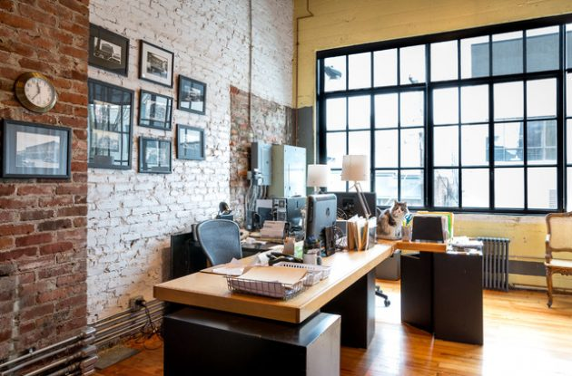 15 industrial home office designs that will delight you Industrial home office design ideas