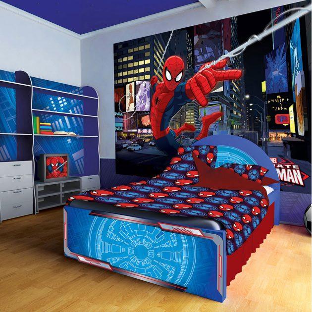 18 Astounding Superhero Themed Kids Room Designs That Everyone Need To See