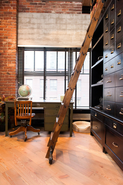 15 Industrial Home Office Designs That Will Delight You