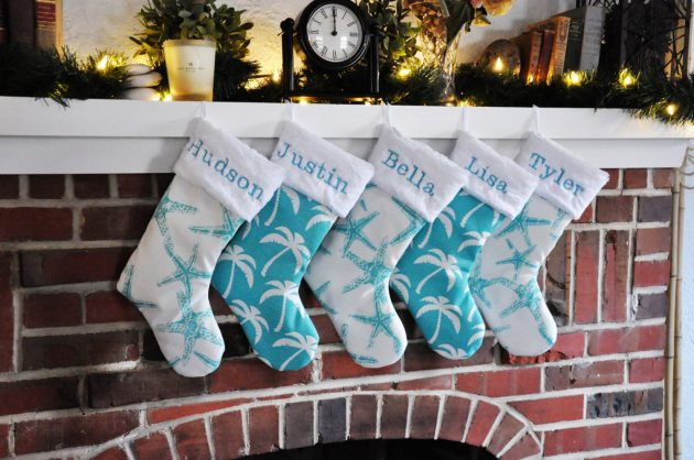 15 Adorable Handmade Christmas Stockings To Decorate Your Mantelpiece With