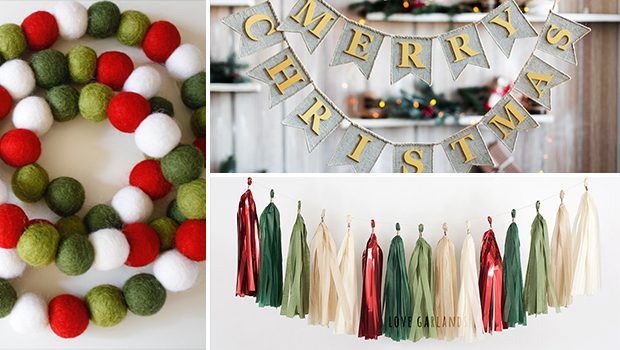 15 Amazing Handmade Christmas Garland Designs You're Gonna Love