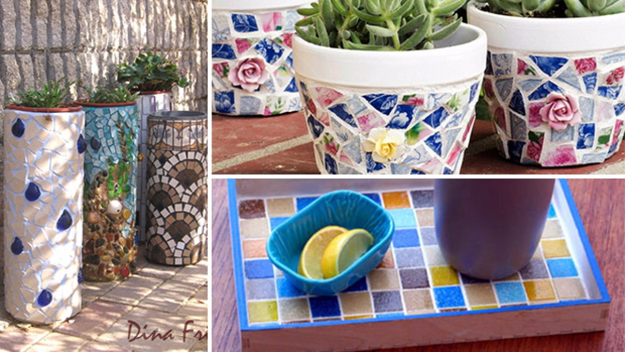 15 Artistic Diy Projects That You Can Make With Broken Tiles