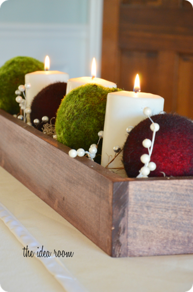 15 Glamorous DIY Christmas Centerpiece Ideas You'll Want To Make Right Away