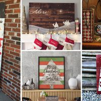 15 Incredible Last Minute Handmade Christmas Sign Decorations