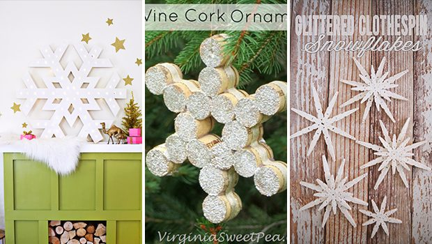15 Resourceful DIY Snowflake Decor Projects For The Winter