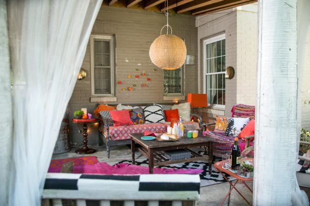 15 Stunning Eclectic Patio Designs That Will Make You Live Outdoors