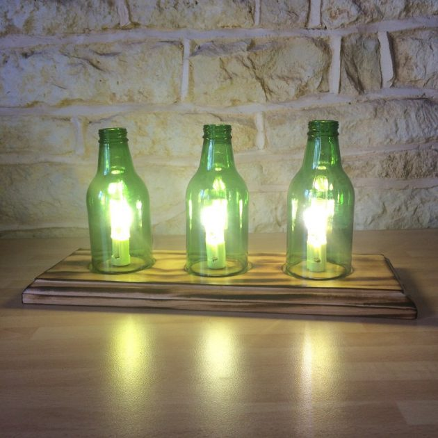 15 Unique Handmade Bottle Light Ideas For Creative Lighting