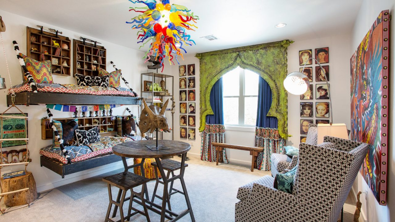 15 Vibrant Eclectic Kids Room Interior Designs You Must See