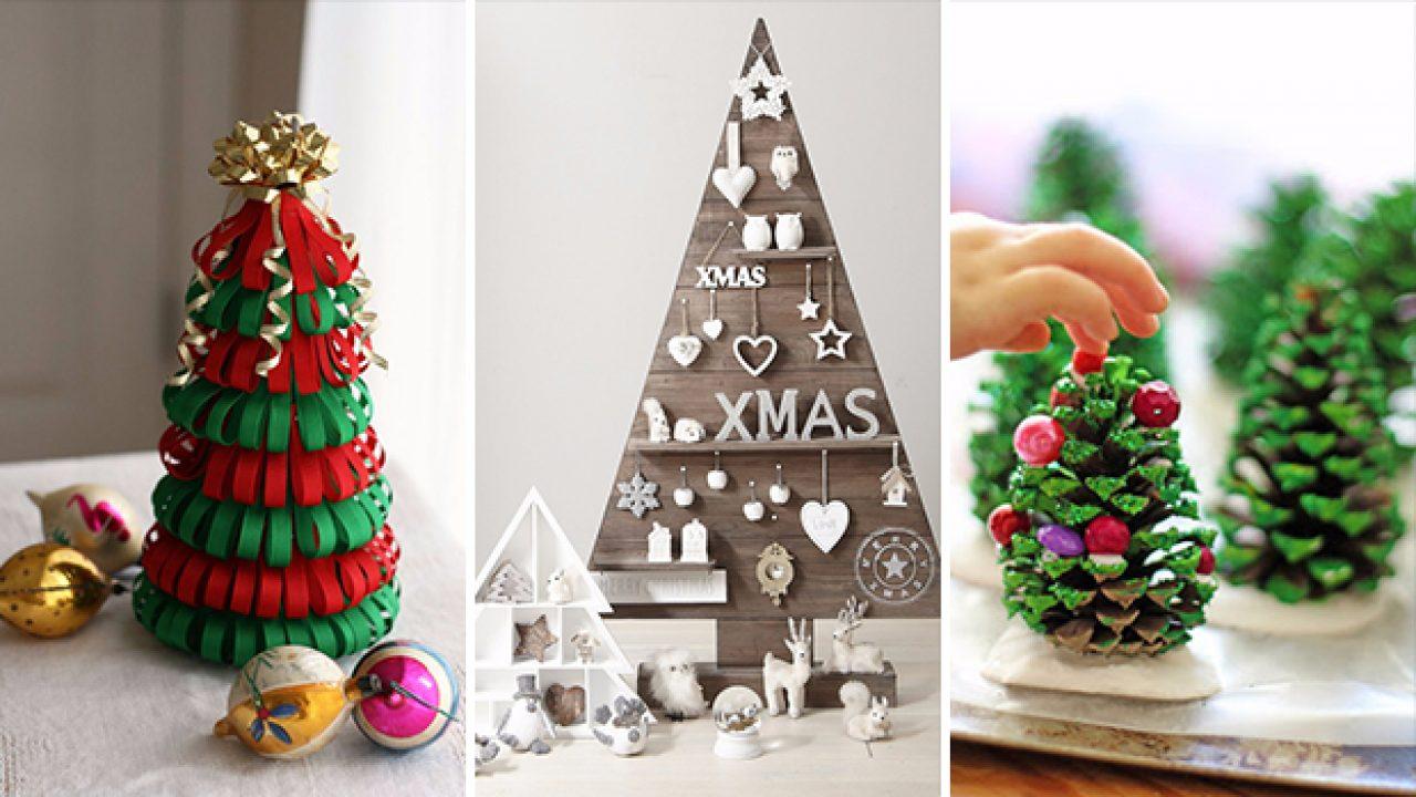 Cute Christmas Ideas.17 Cute Diy Ideas For An Alternative Christmas Tree Decoration