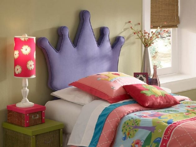 Kids Bedroom Headboard most attractive diy headboard designs to cheer up the kids room