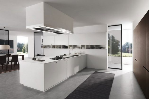 16 Fascinating Minimalist Kitchen Designs That Are Worth Seeing
