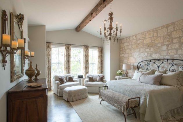 18 Impressive French Style Bedrooms That No One Can Resist