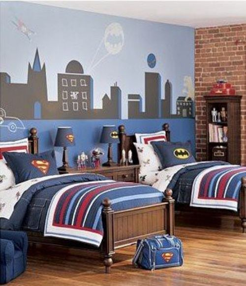 18 Astounding Superhero Themed Kids Room Designs That Everyone Need To See