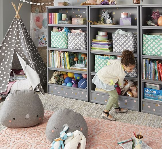 16 Extremely Helpful Ideas For Organizing Child's Room