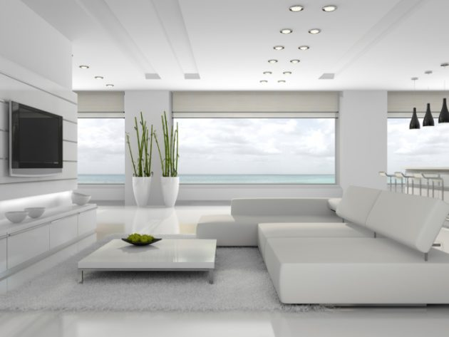 17 Magnificent White Living Room Designs That You Need To See