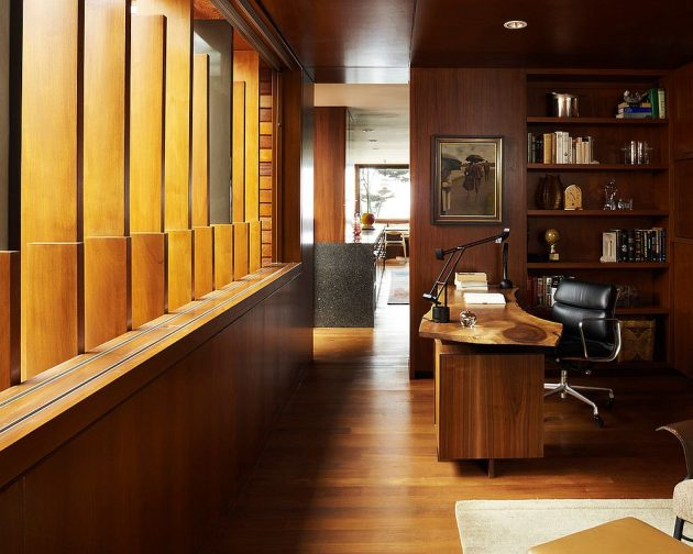 15 Original Home Office Designs With Unique Live Edge Desk That Will Impress You