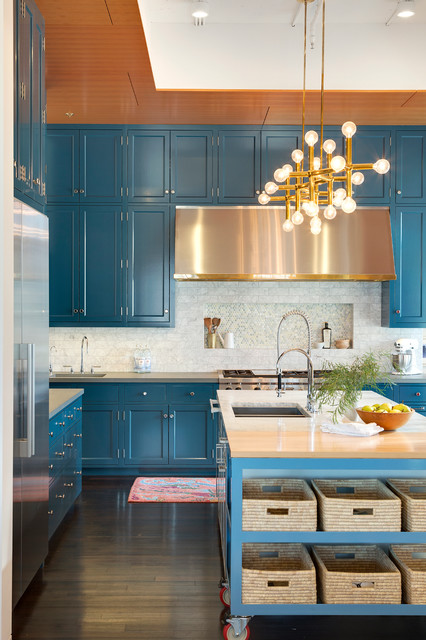 16 Fascinating Transitional Kitchen Designs For Your Inspiration
