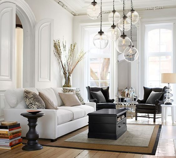 Fascinating Ideas For Decorating Elegant Living Room
