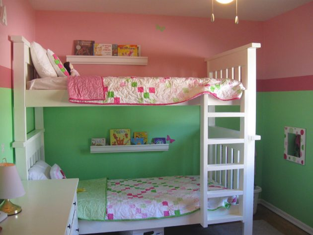 16 Captivating Ideas For Decorating Shared Kids Bedroom