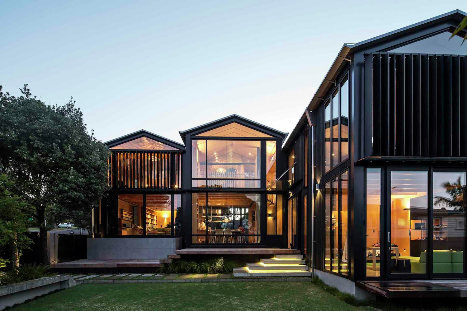 Boat sheds by strachan group architects rachael rush in for Design house architecture nz