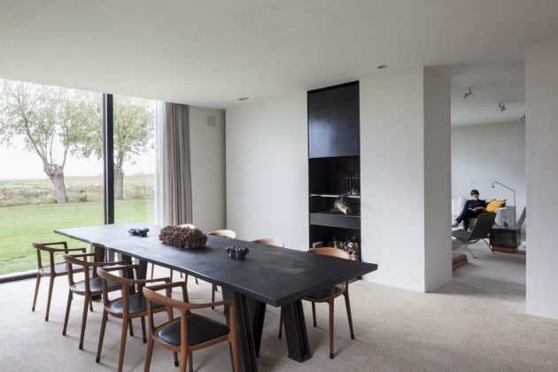 DBB Residence by Govaert & Vanhoutte Architects in Knokke, Belgium
