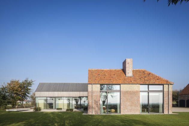 DBB Residence by Govaert & Vanhoutte Architects in Knokke, Belgium