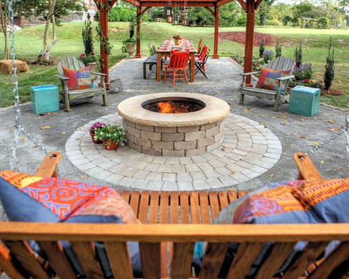 Fire Pits and Outdoor Fireplaces We Want to Warm Up By