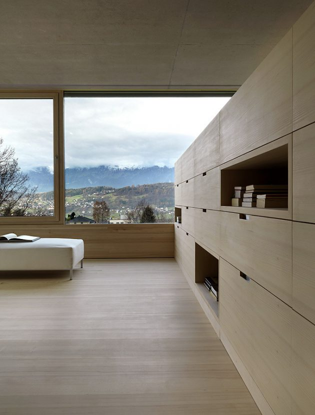 Germann House by marte.marte Architekten in Feldkirch, Austria
