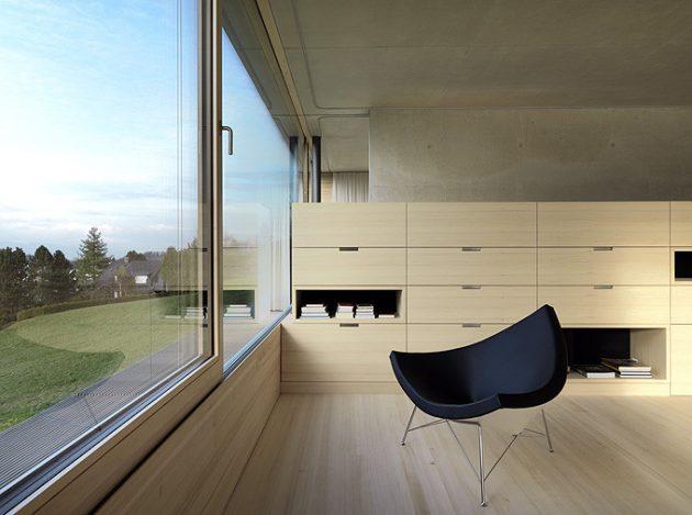 Germann House by marte.marte Architekten in Feldkirch, Austria