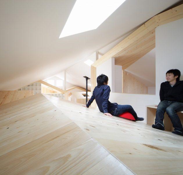 House K by Yoshichika Takagi in Sapporo, Japan
