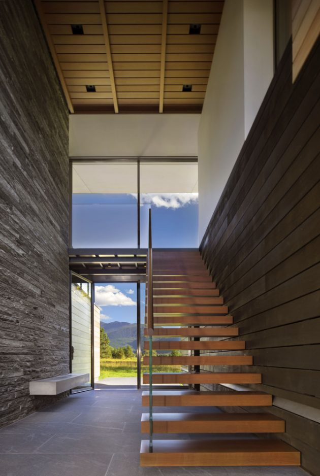 Independence Pass Residence by Bohlin Cywinski Jackson in Aspen, Colorado