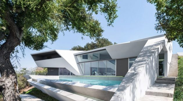 MU77 Residence by ARSHIA Architects in Los Angeles, USA