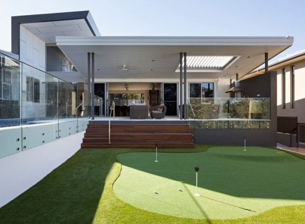 The Golf House by Studio 15b in Brisbane, Australia