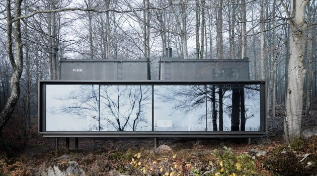 The VIPP Shelter by VIPP in Denmark Is a Stunning Prefab Getaway