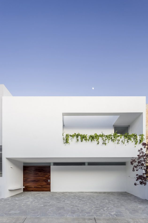 V House by Abraham Cota Paredes Arquitectos in Guadalajara, Mexico