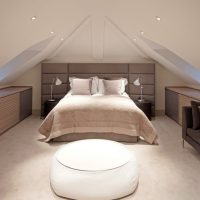 Modern Attic Room- Ideal Balance Between Aesthetics and Ergonomics