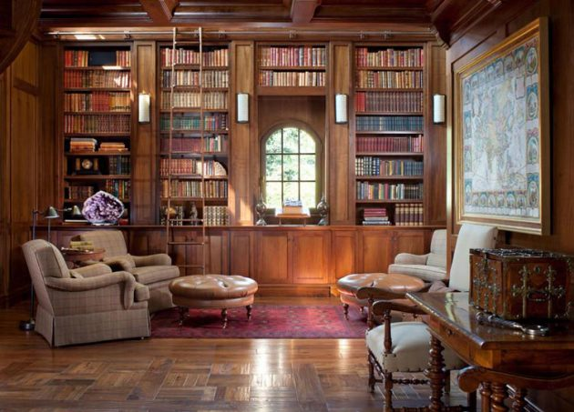 Classic Home Library Designs That Are Dream Of Every Book Lover