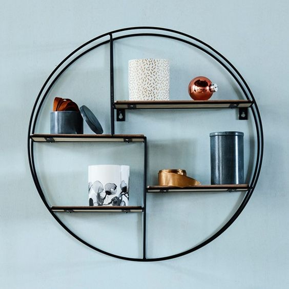 17 Remarkable Diy Round Shelf Designs To Adorn Your Empty