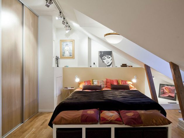 Effectively Decorated Master Bedrooms In The Attic – Attic Master Bedroom