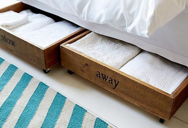 Genial 17 Most Creative Ideas To Make Stylish DIY Underbed Storage Drawers