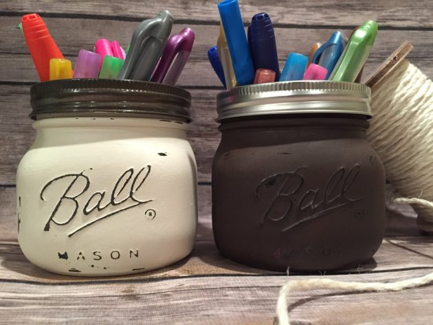 15 Amazing Handmade Mason Jar Organization Ideas That Can Help You