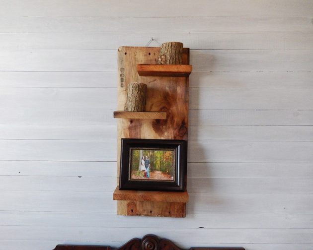 15 Amazing Reclaimed Wood Storage And Organization Ideas