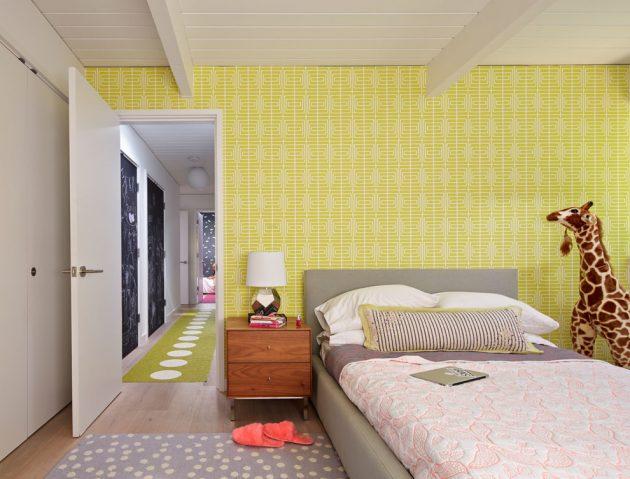 15 Appealing Mid-Century Modern Kids' Room Designs
