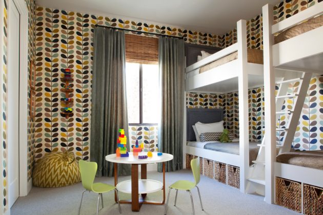 15 Appealing Mid Century Modern Kids Room Designs