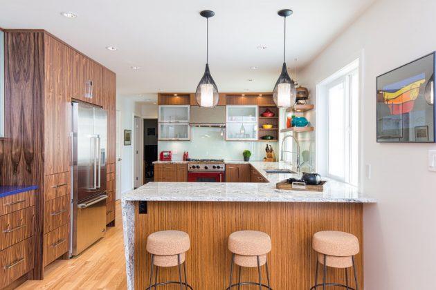 15 Beautiful Mid-Century Modern Kitchen Interior Designs