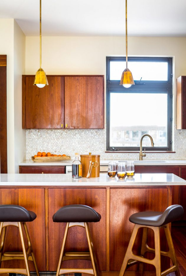15 Beautiful Mid-Century Modern Kitchen Interior Designs