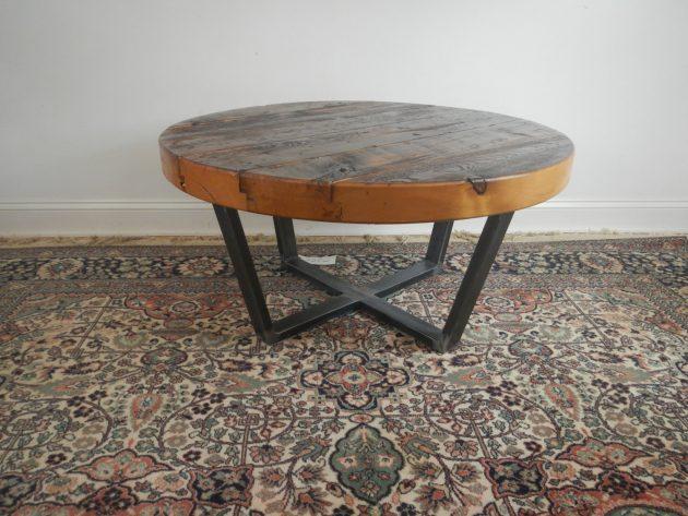 15 Eye Catching Reclaimed Wood Furniture Designs